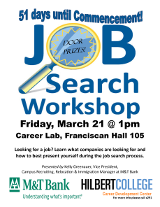 Job Search Workshop